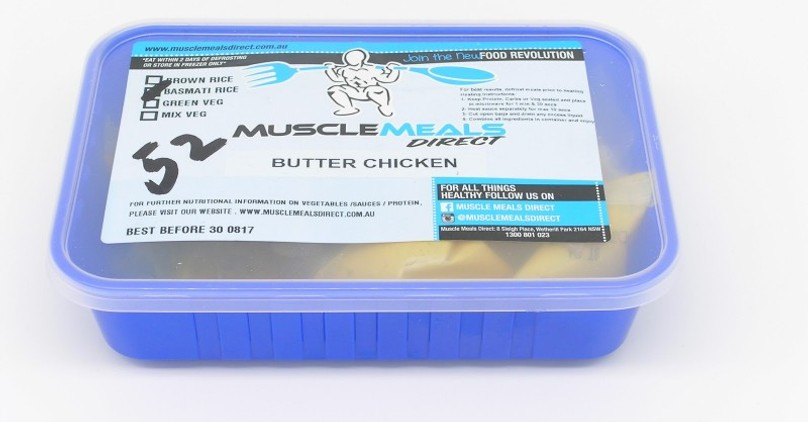 Muscle Meals Butter Chicken Review & Pictures