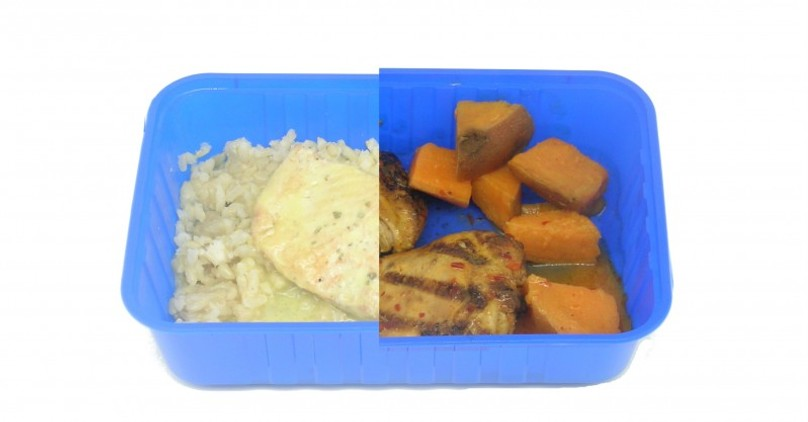Muscle Meals Direct Salmon Fillet and Portuguese Chicken