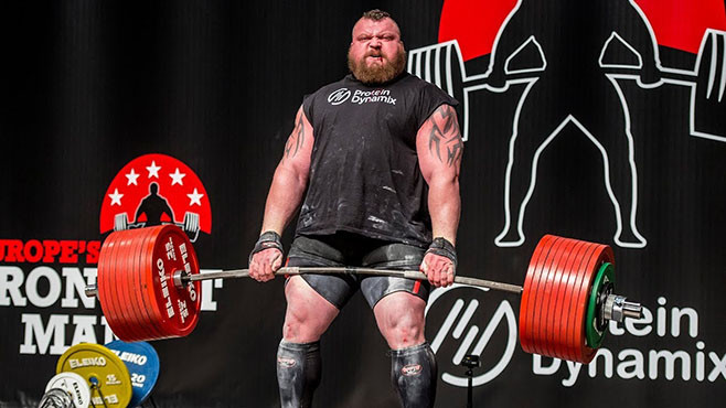 Eddie Hall's record deadlift