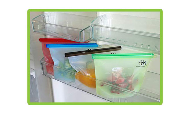 Fridge, freezer, microwave and dishwasher safe containers by HouseHoldHelpers
