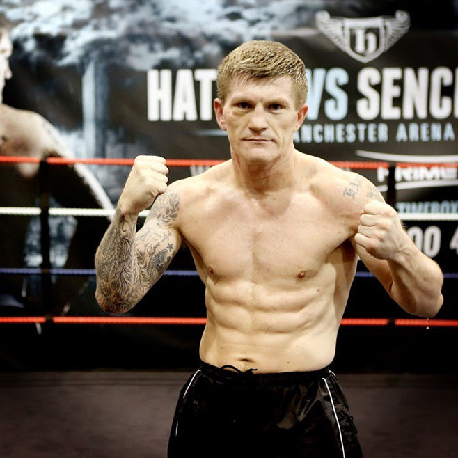 Ricky Hatton the athlete emerges
