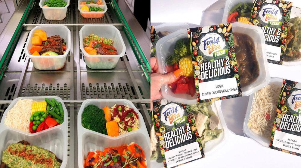 Custom food4fitness Meals