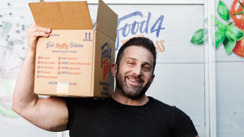 Giancarlo Coratella, The Man Behind Food4Fitness That's Transforming Lives