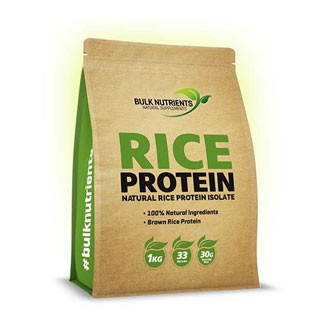 Bulk Nutrients Organic Brown Rice Protein