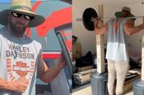 💡 $140 DIY Bunnings Home Gym Squat Rack