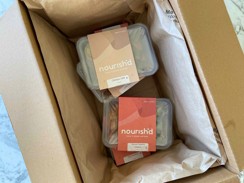 Nourish'd Meals Box