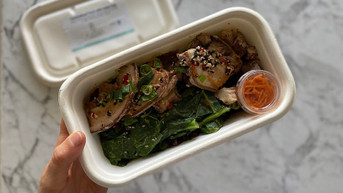 Nutritionist Review: My Goodness Organics Caramelised Pork with Asian Veg