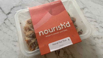 Nutritionist Review: Nourish'd Primal Pad Thai