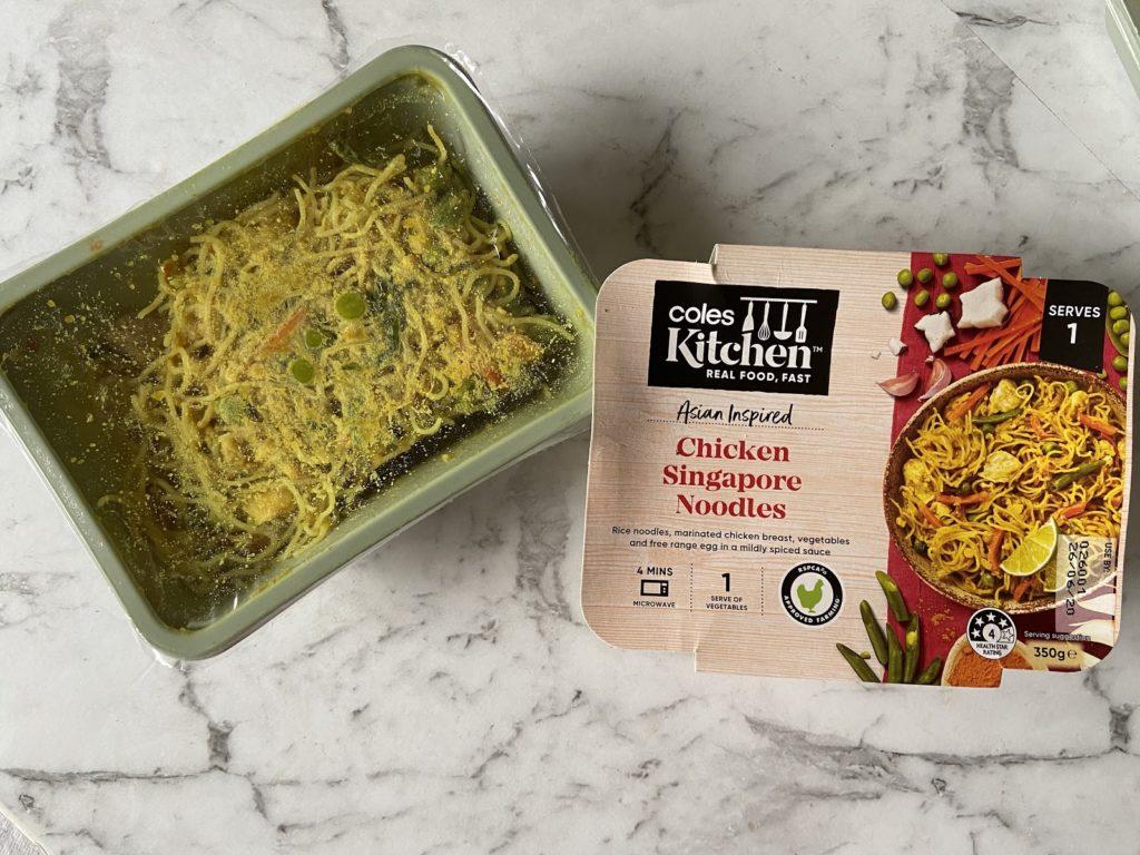 Coles Kitchen Singapore Noodles