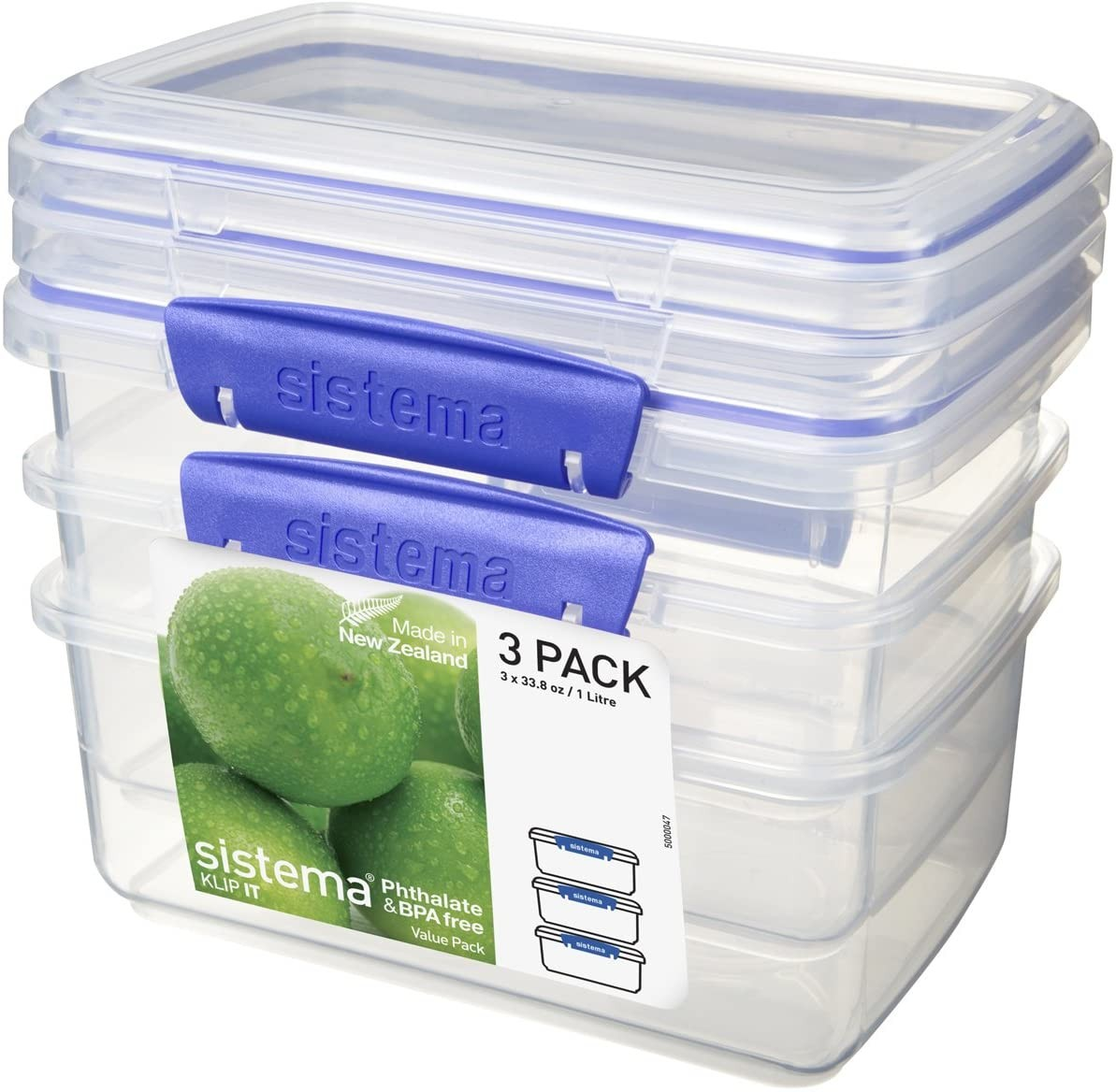 Sistema Klip It Clear Food Storage Containers