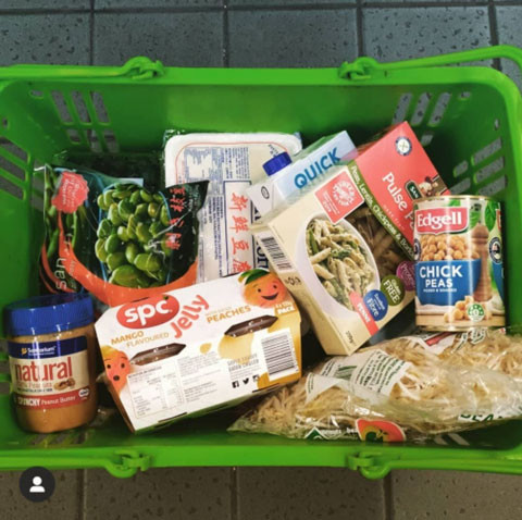 High protein plant based grocery haul