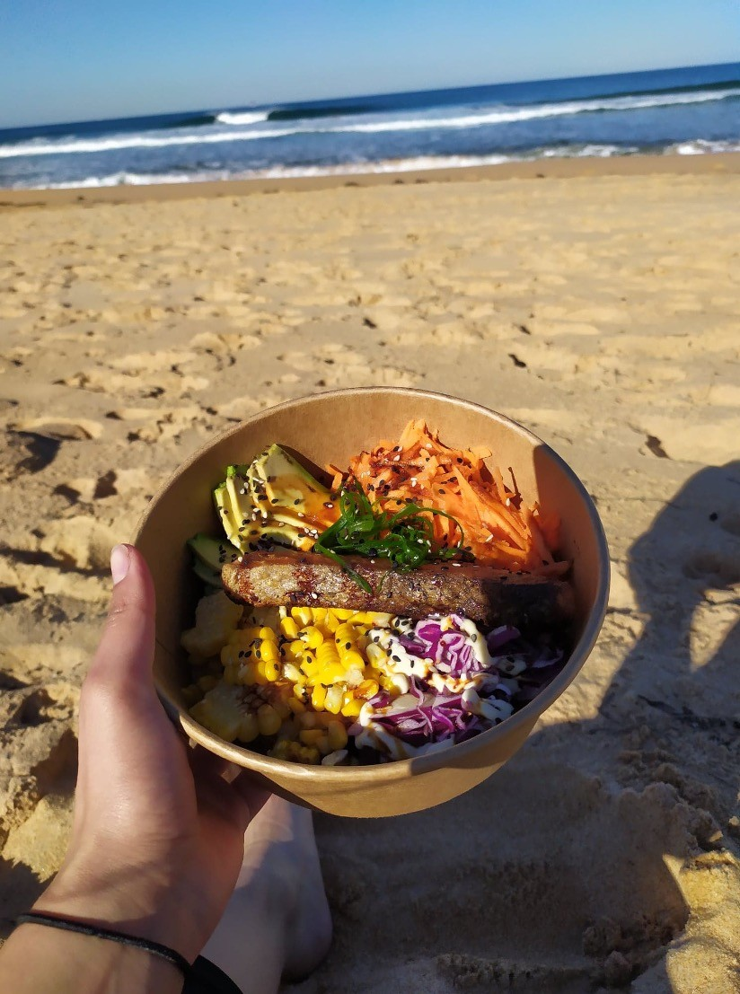 Plant based probiotic meal