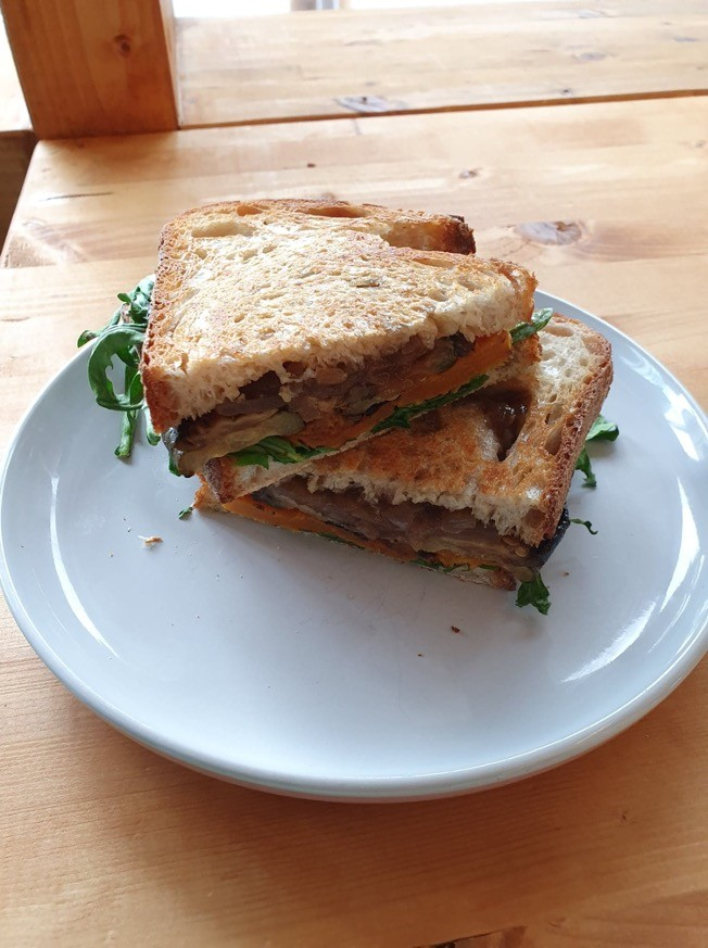Miso Tahini Sandwich Spread
