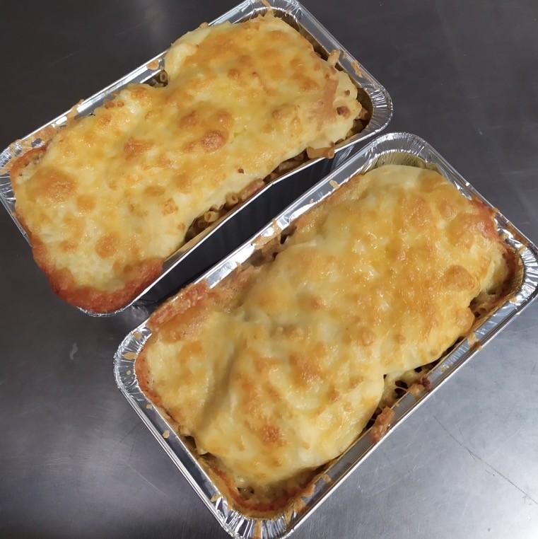 Extra cheesy lasagna