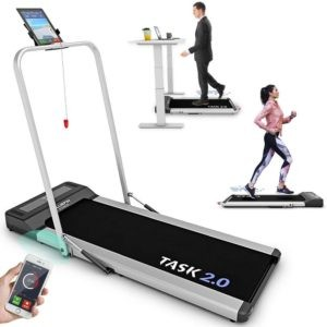 Fitness Task 2-in-1 Folding Under Desk Treadmill