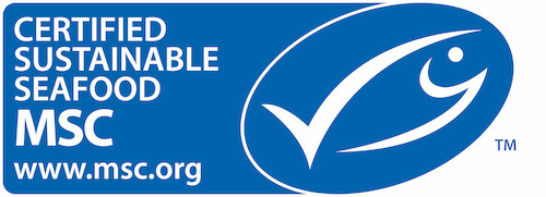 Certified Sustainable Seafood MSC Logo