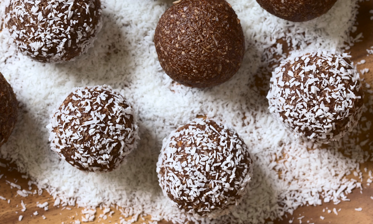 Chocolate Protein Bliss Balls