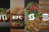 Comparing the Healthiest Options at Australia's Most Popular Fast Food Restaurants