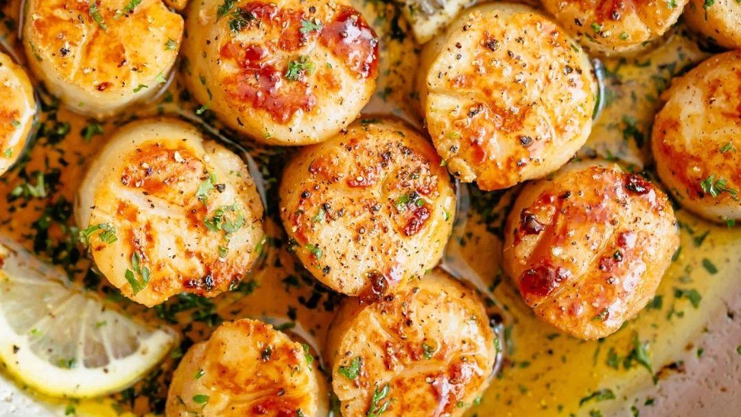 Butter Garlic Scallops