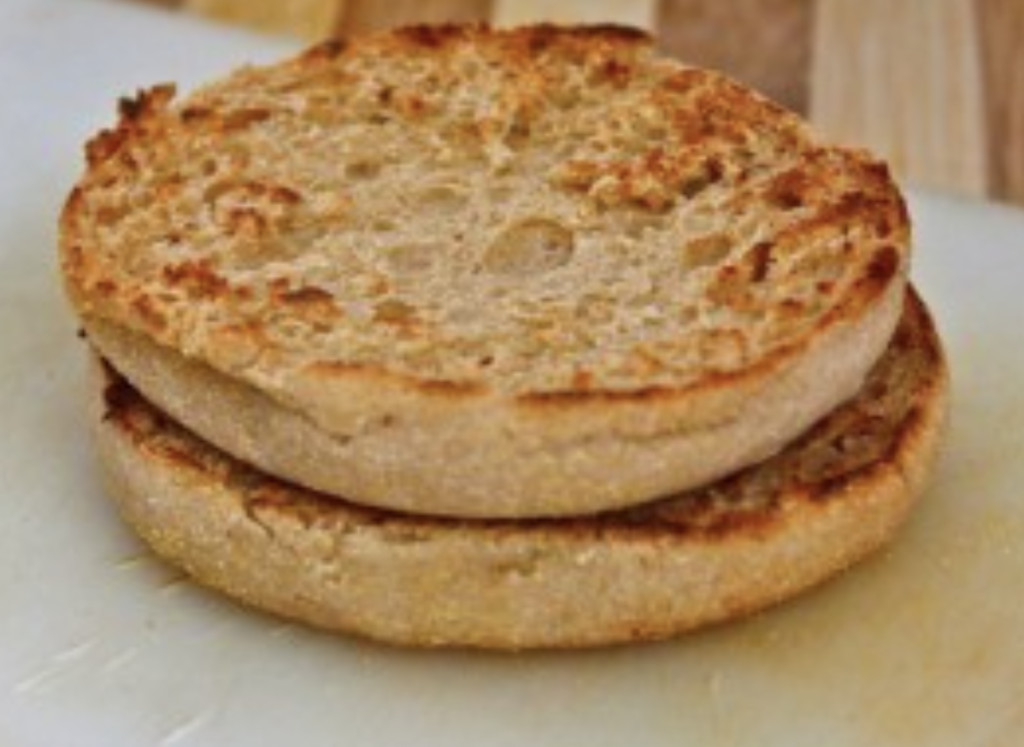 microwave english muffin