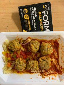 Coles PerForm Italian-Style Meatballs