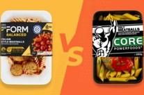Coles PerForm vs Core Powerfoods