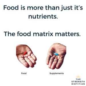 Food Matrix Matters