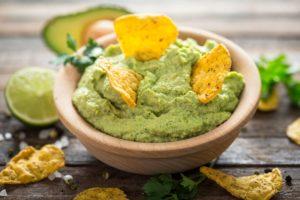 creamy and nutritious avocado dip