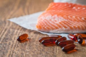 fish oil and salmon to relieve period pain