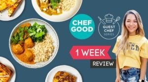 Trying Chefgood's New Guest Chef Series!