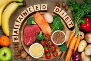 balanced diet instead of a rigid, inflexible diet is better for weight loss