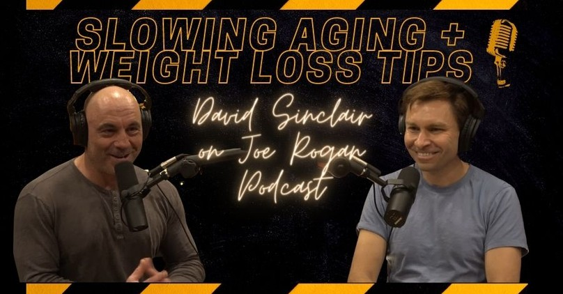 Weight Loss and Slowing Aging – Highlights from David Sinclair on the Joe Rogan Podcast