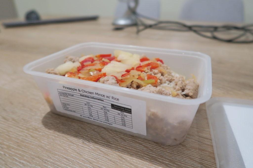 Pineapple Chicken Mince w/ Rice