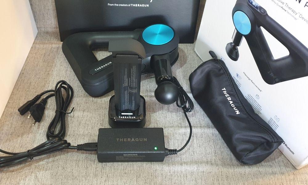 Theragun charging