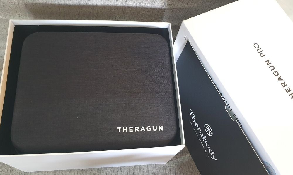 Unboxing the Theragun PRO