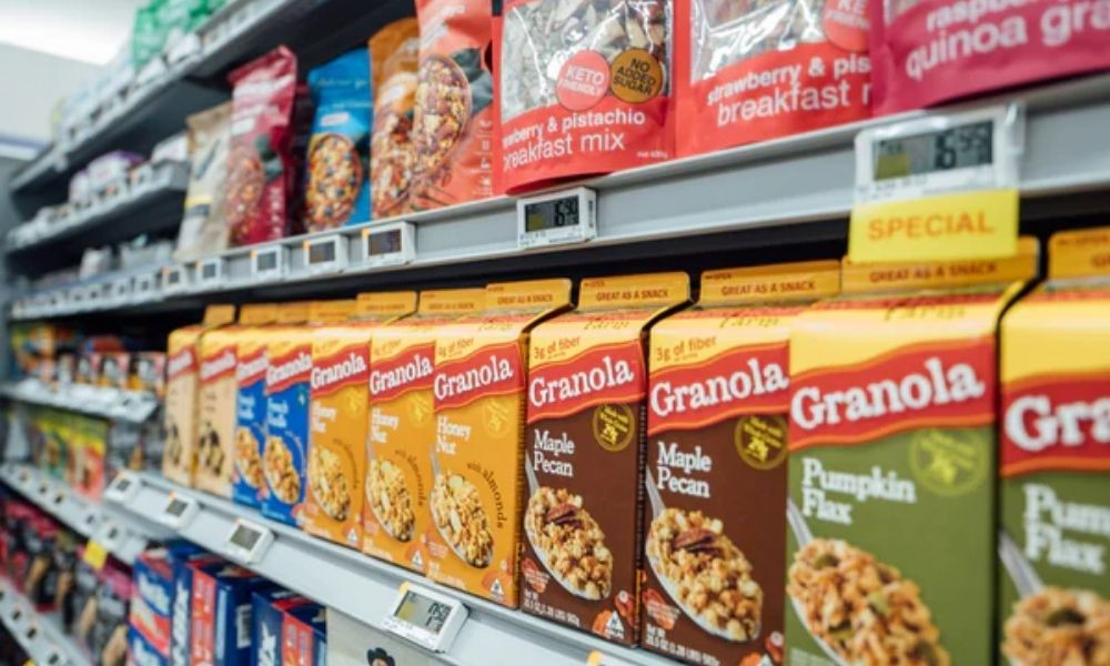 products and nutritional labels