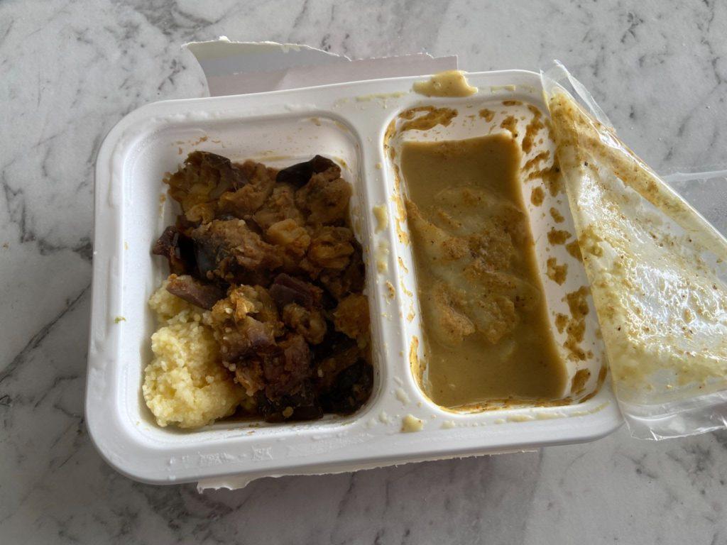 Microwaved MACROS Meal