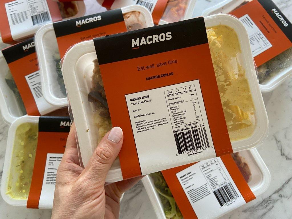 Macros Meals Thai Fish Curry
