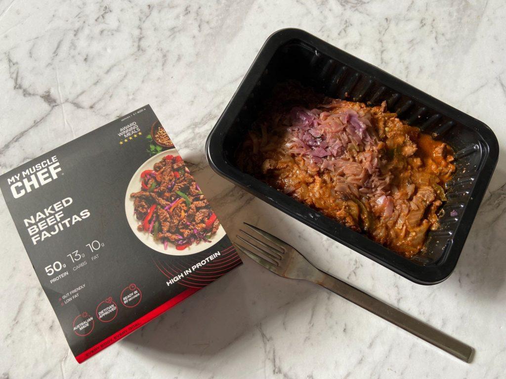 My Muscle Chef Naked Beef Fajitas