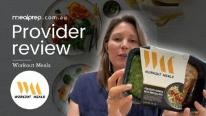 Nutritionist Review: Workout Meals