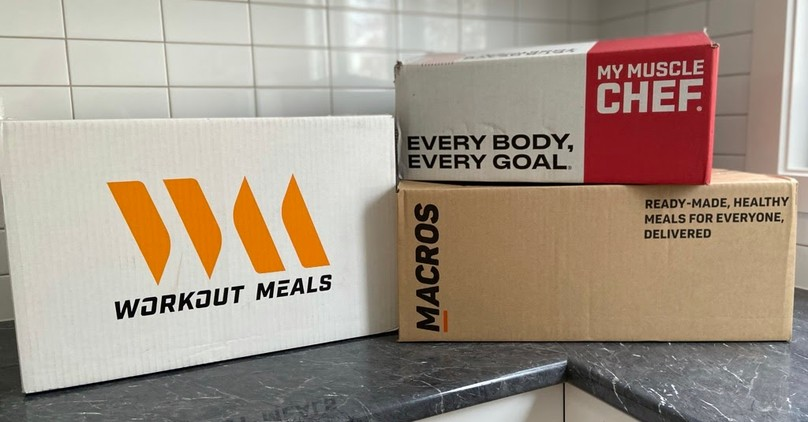 My Muscle Chef v Workout Meals v MACROS
