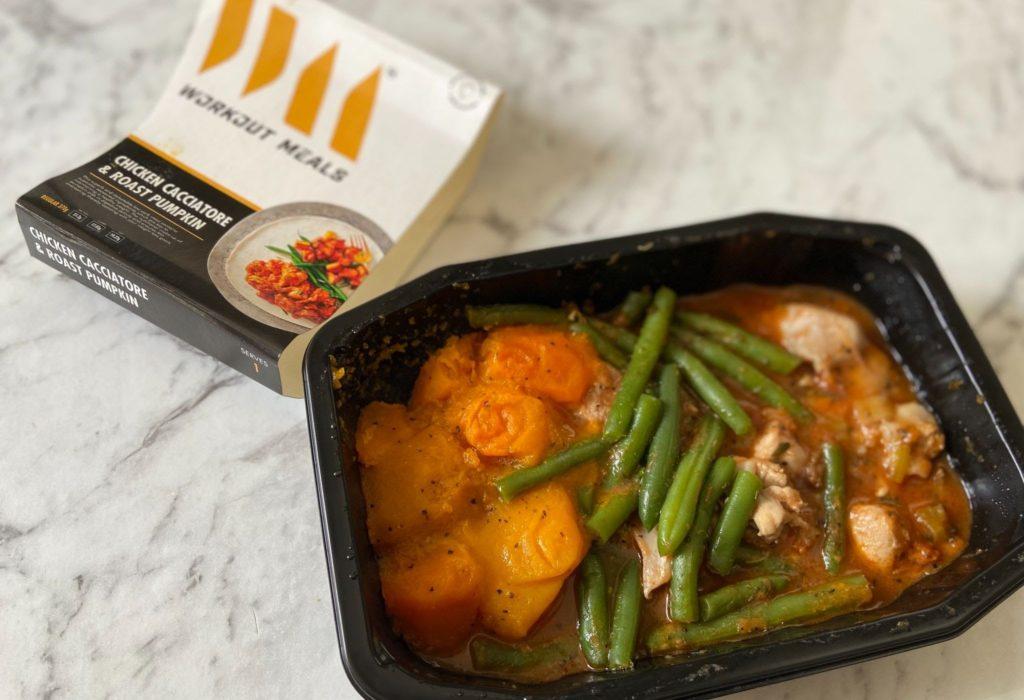 Workout Meals Chicken Cacciatore