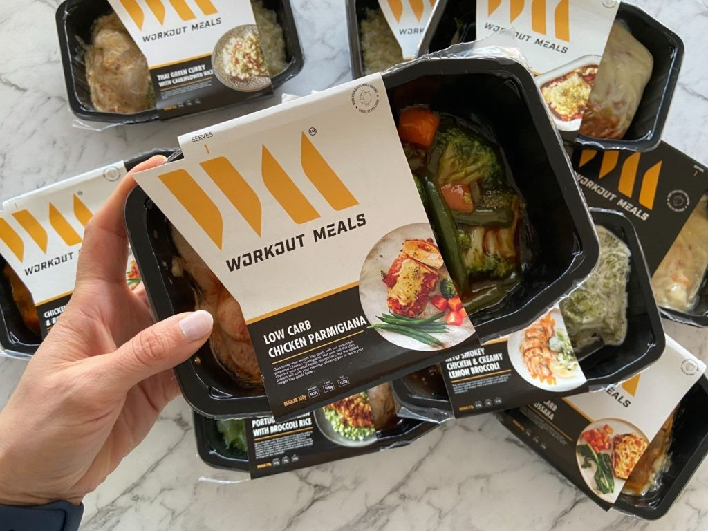 Workout Meals Chicken Parmigiana