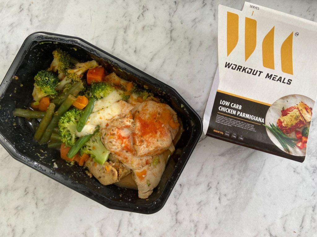 Workout Meals Chicken Parmigiana Heated