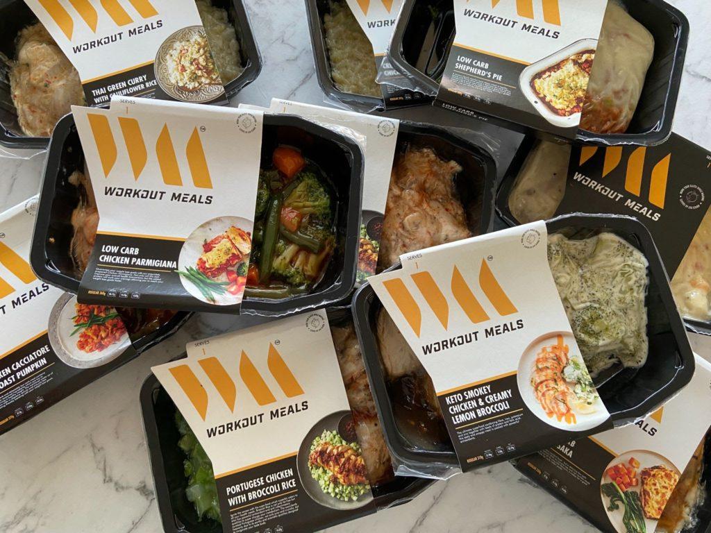 Workout Meals Range of Meals