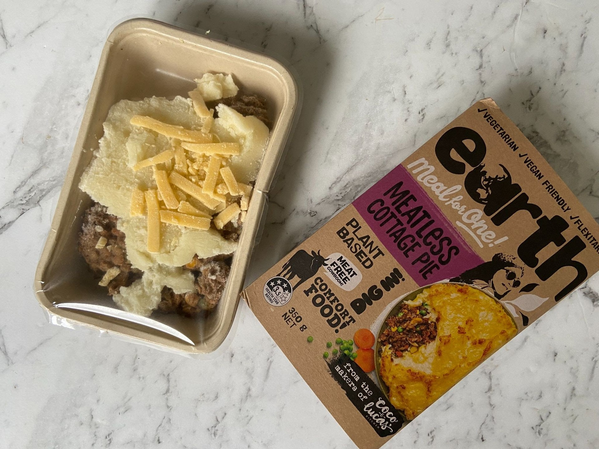 Earth Meals Meatless Cottage Pie