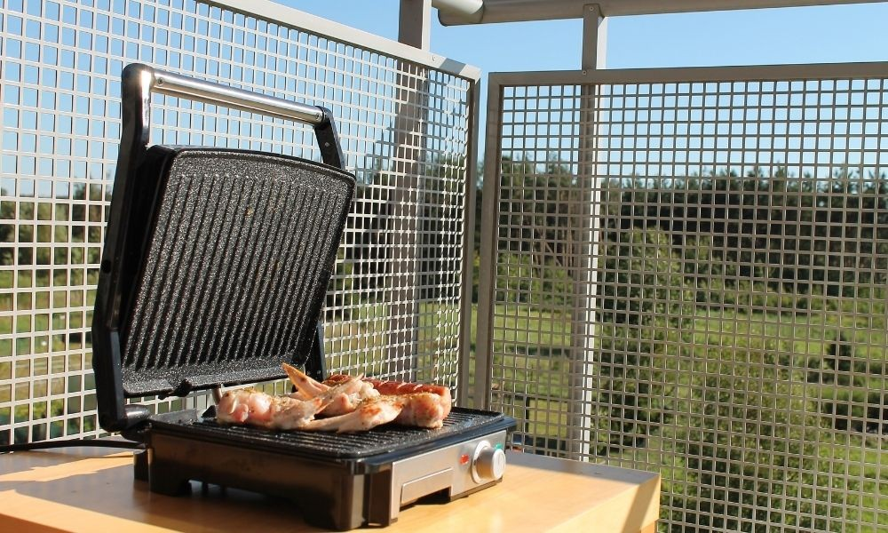 electric grill for outdoor use